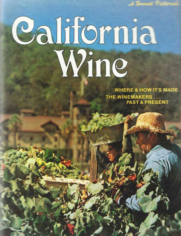 Sunset's California Wine Cover