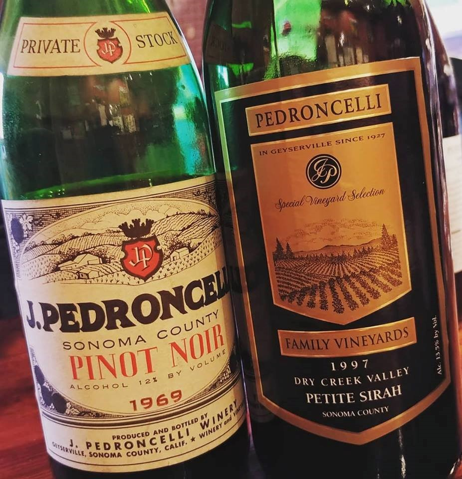 Aged Wines: Old and Not So Old