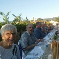 Dinner in a Very Special Vineyard