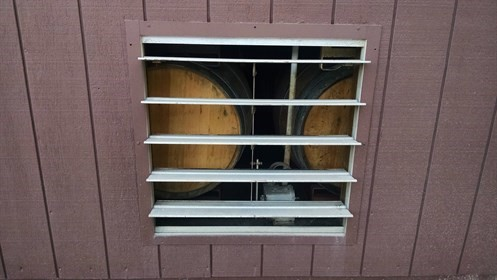Barrel Room Vent