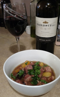 Braised Pork with Zinfandel