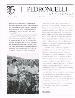 First edition of newsletter